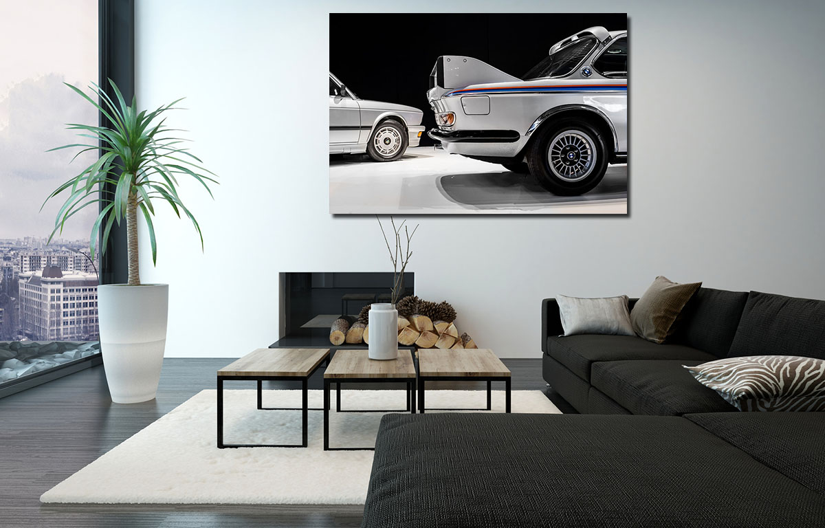 Batmobile BMW Car Prints