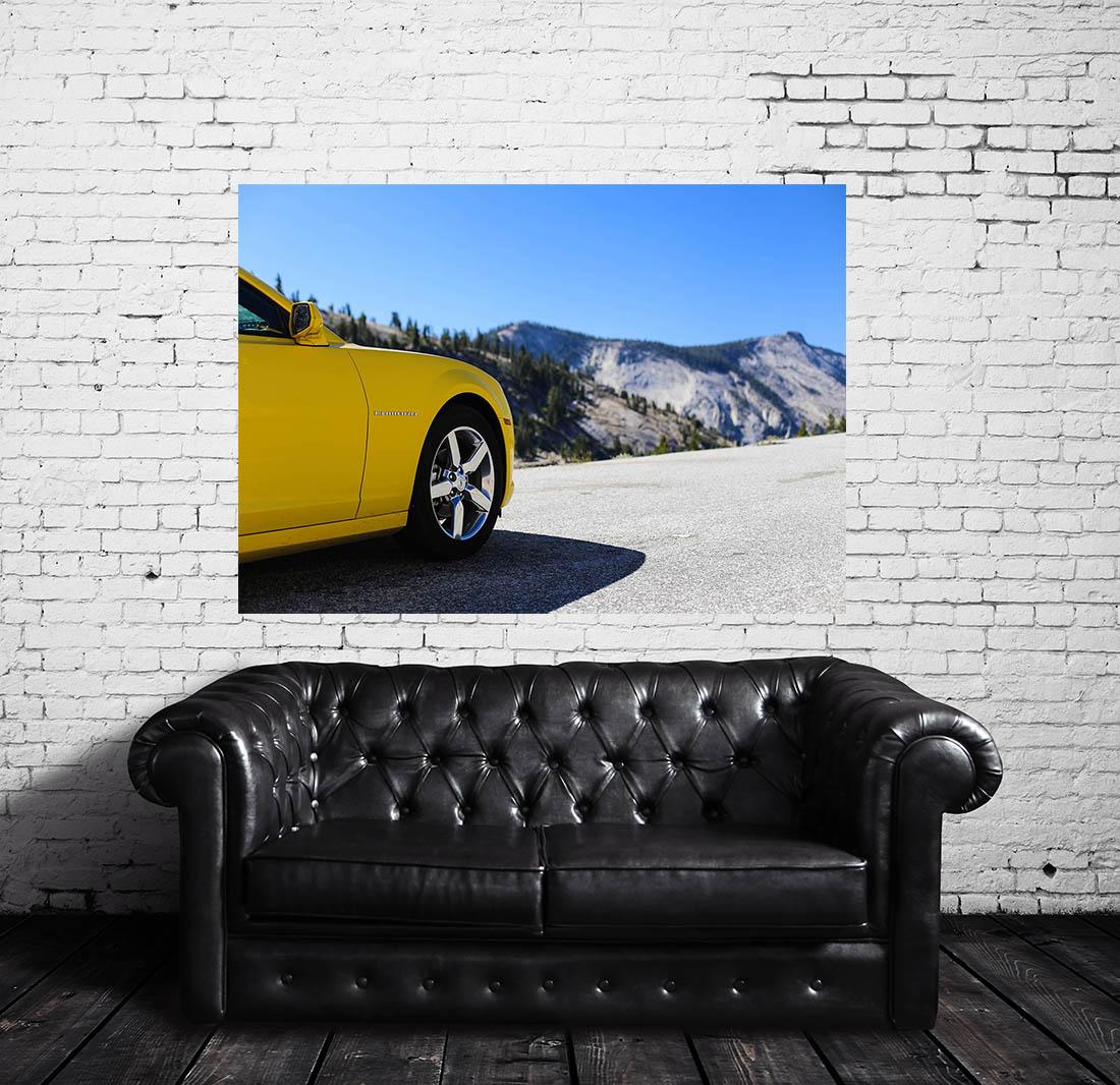 Canvas Prints American Car Camaro