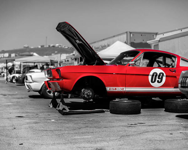 Deco wall prints Ford Mustang