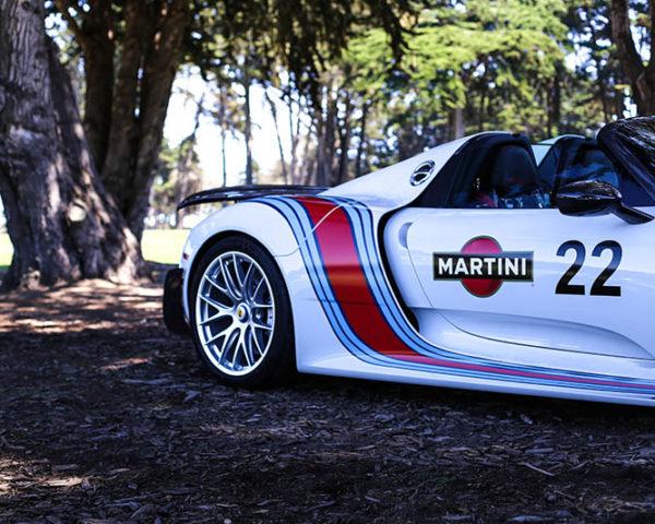 Decorative Car Print Porsche 918