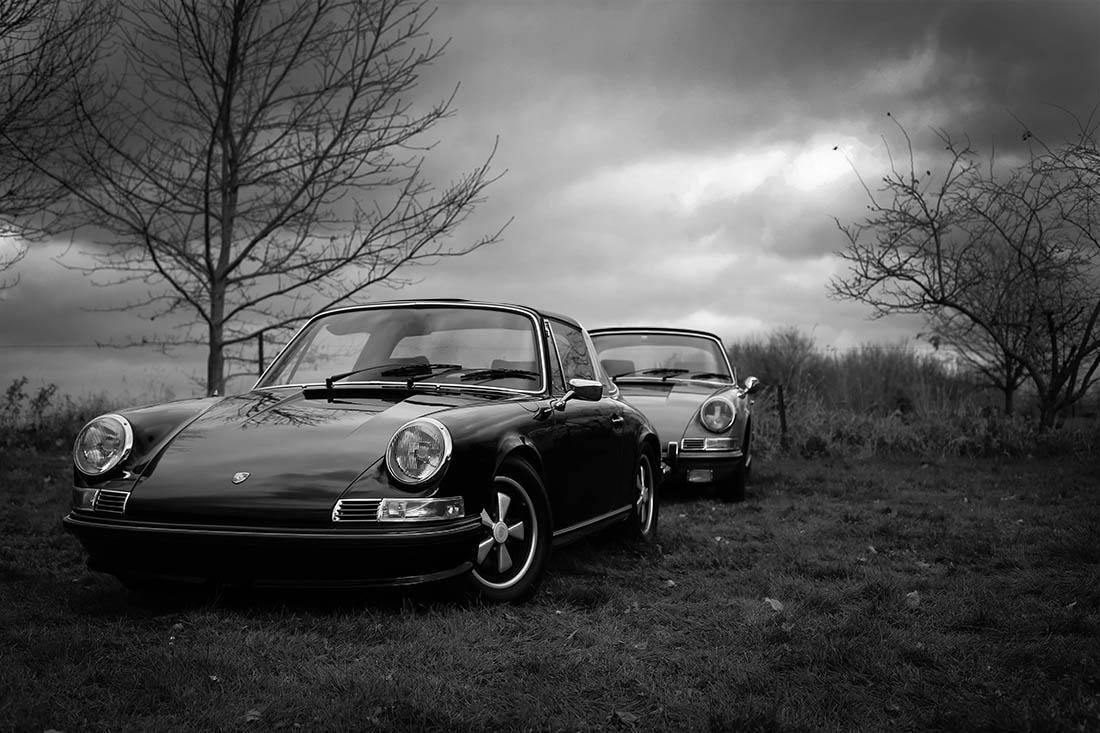 Decorative Photograph Porsche Classic