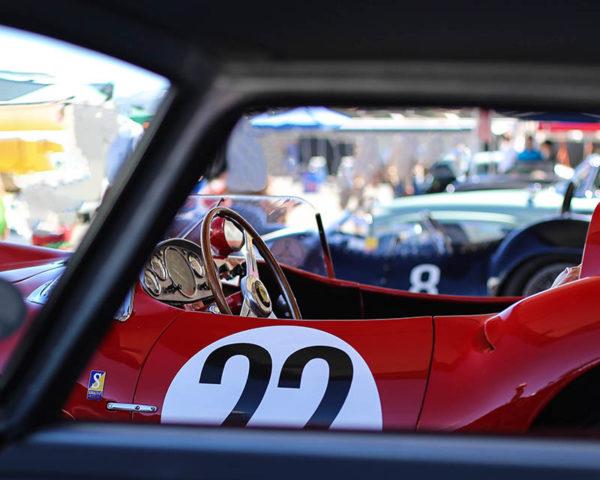 Decorative Print Photograph Ferrari 412 S