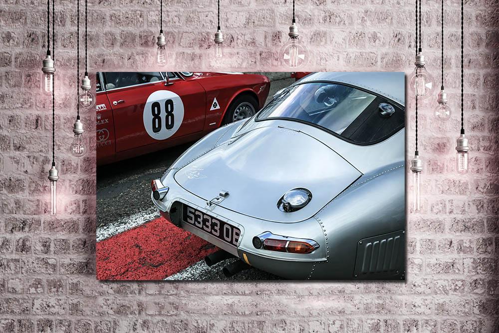 E-Type Jaguar Photographs