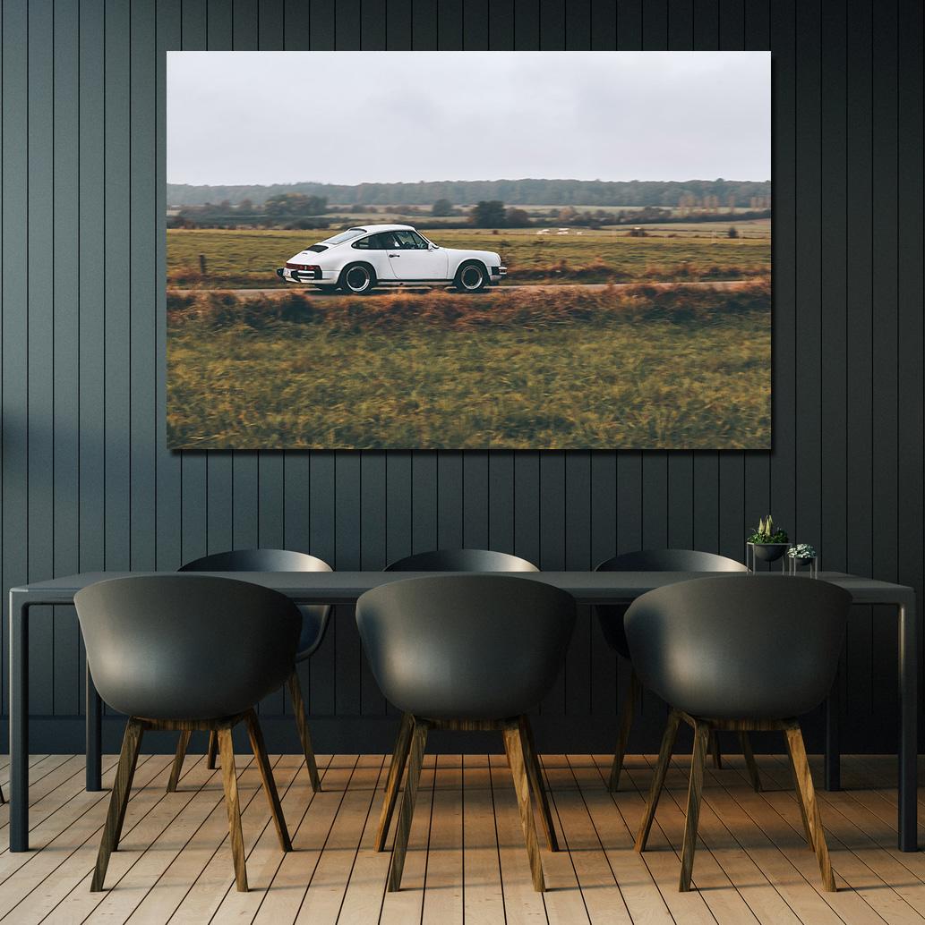 White 911 Porsche Photos