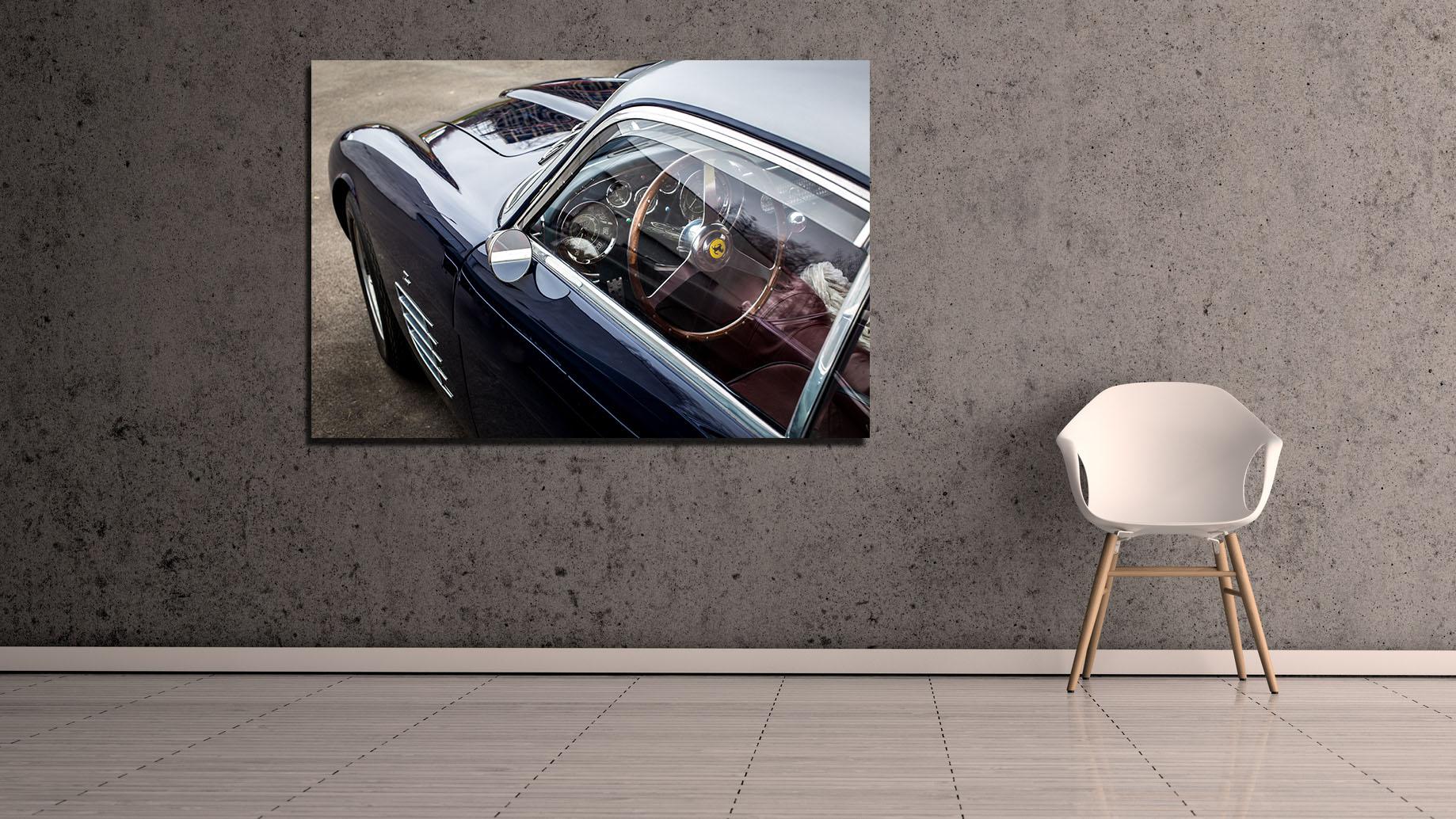Ferrari Interior Dashboard Photographs
