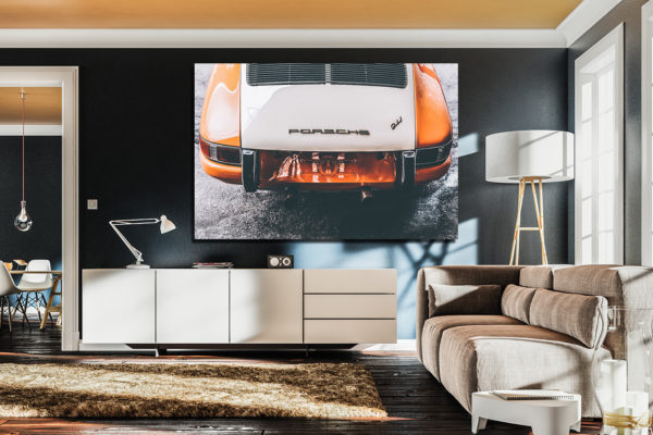Orange Porsche 911 Classic Photographs