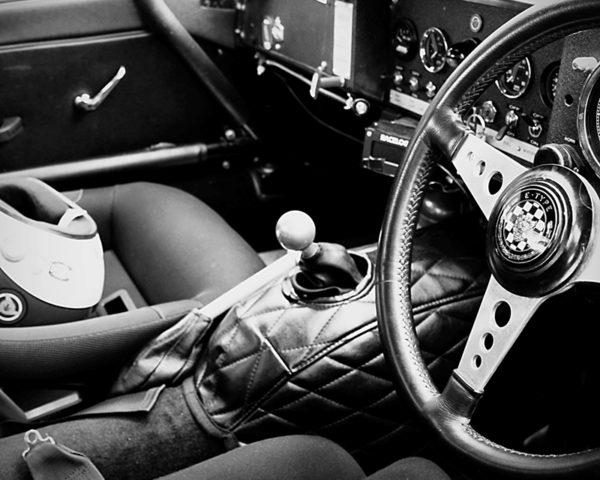Jaguar Type E Interior