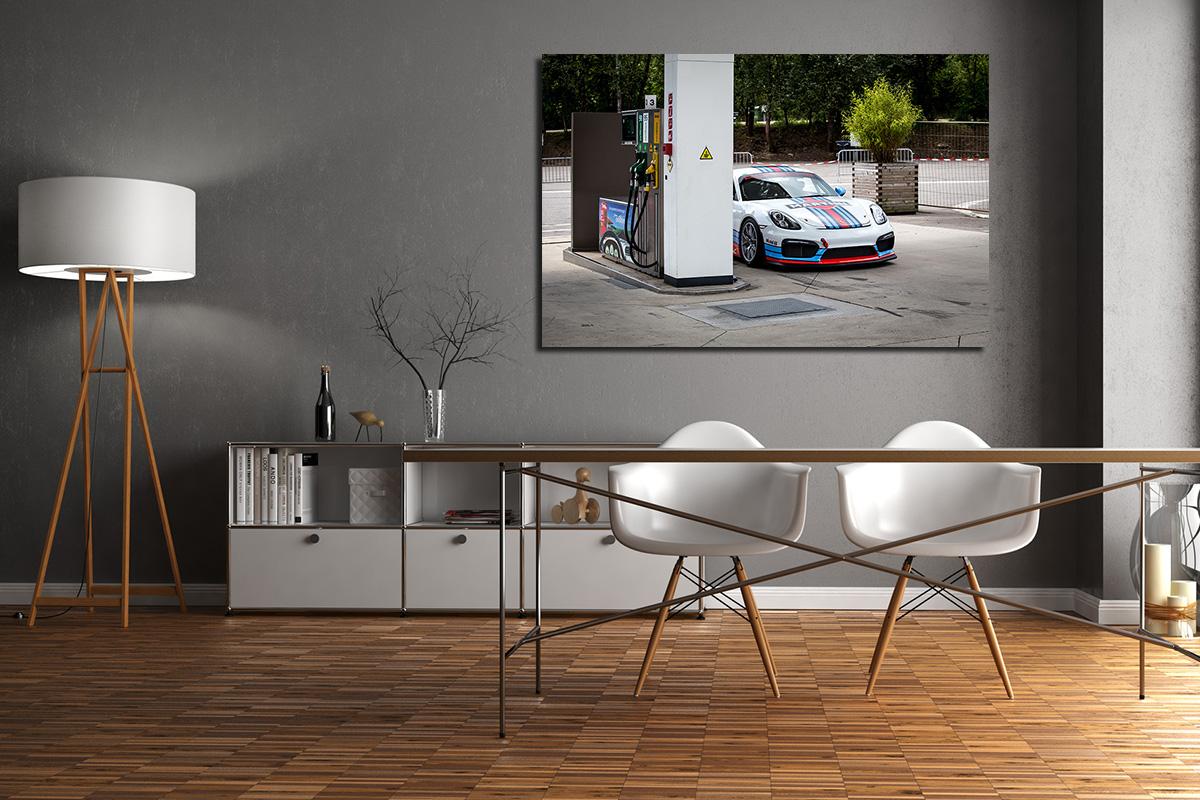 Martini Porsche Cayman GT4 Photos