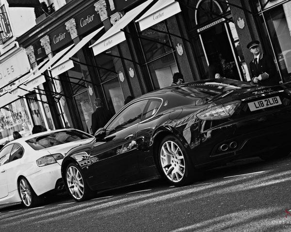 Maserati in London