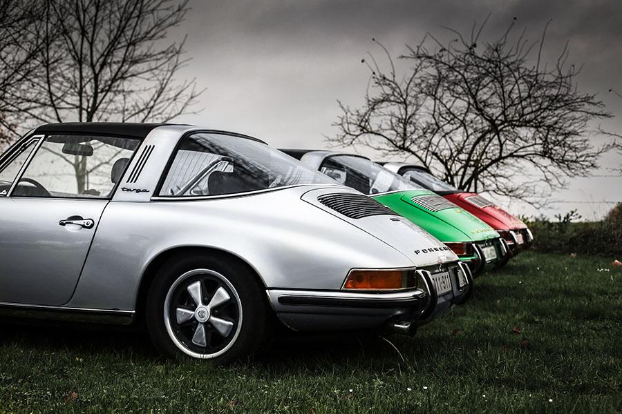 Old Porsche Targa Photographs