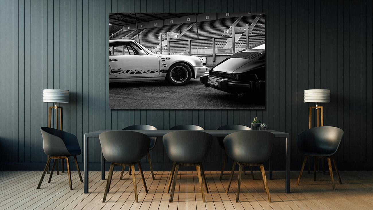 Black and White Photos Porsche 911