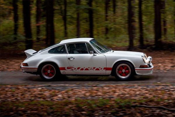 Photo Old Porsche Carrera RS