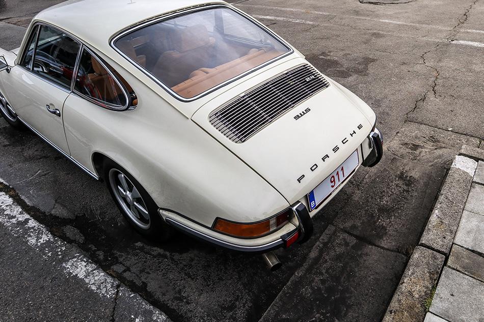Photograph of a 911 Porsche Classic