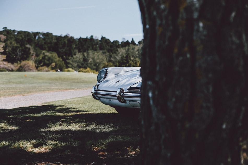 Vintage Porsche Photograph