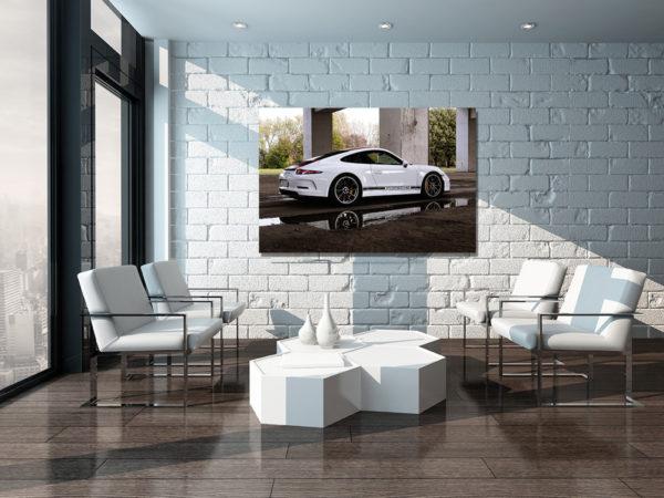 Wall Art Deco Interior Porsche