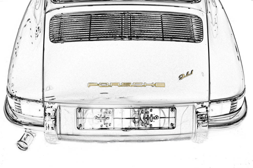 Porsche 911 Classic Art