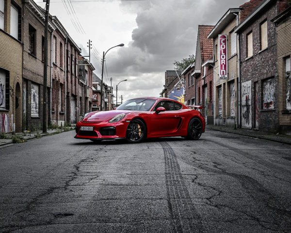 Porsche GT4 Photograph