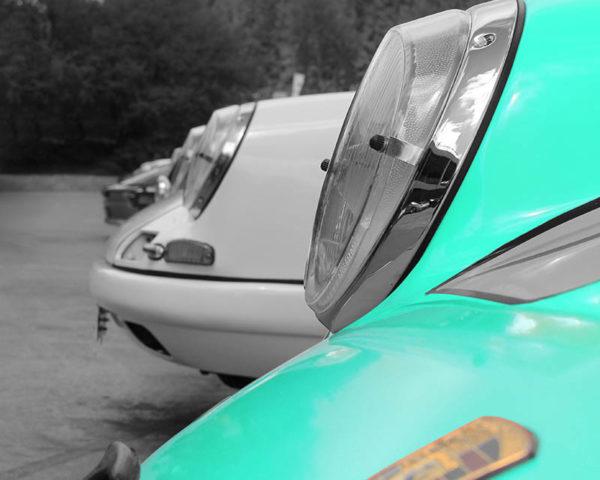 Porsche Print Art Photo