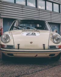 White 911 Porsche Classic Photograph