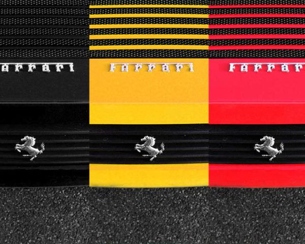 Ferrari Art Print Belgium