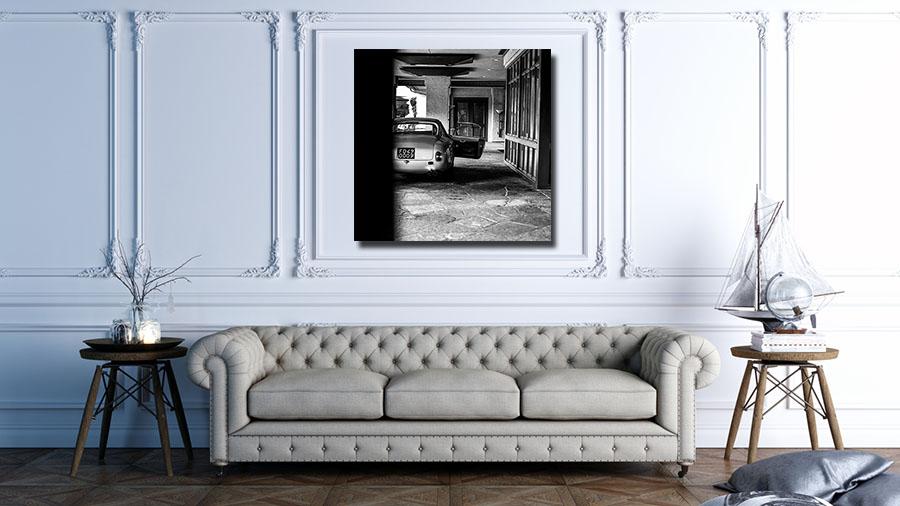 Wall Canvas Print Ferrari