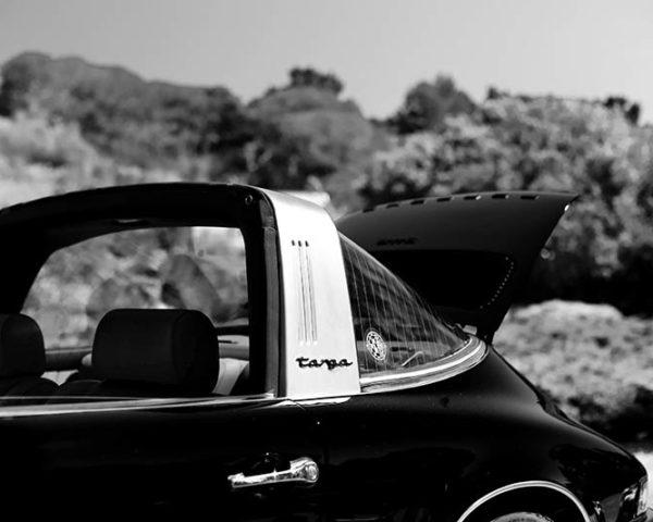 Wall Art Porsche Targa
