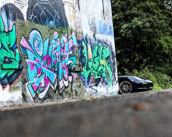 Wall Interior Decorative Car Photograph Porsche