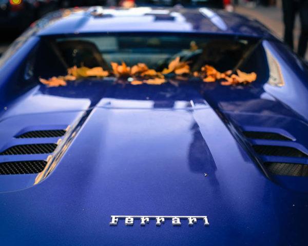 Wall Photo Ferrari