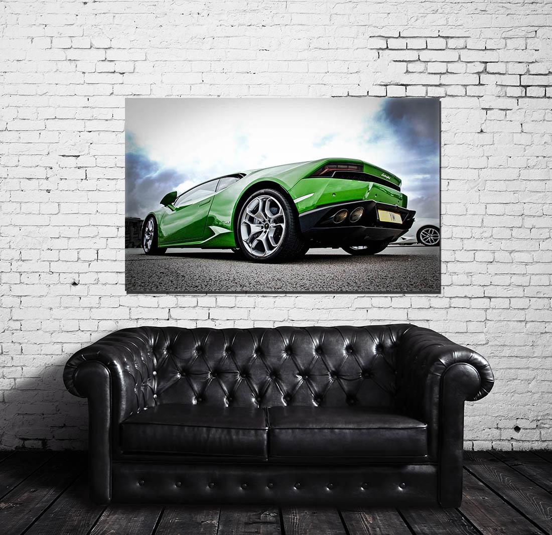 Wall Prints Lamborghini Huracan